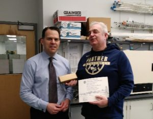 20 years: Brian Frankowski, Medical Devices Lab