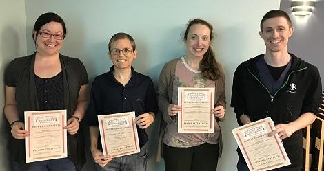 2018 Spring Award Winners